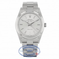 Rolex Air-King 34MM Stainless Steel Silver Dial Oyster Bracelet 14010 CE15Z7 - Beverly Hills Watch