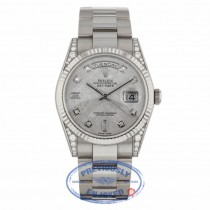 Rolex Day-Date 36mm Factory Diamond Lugs 118339 - Beverly Hills Watch