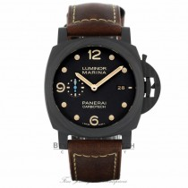 Panerai Luminor Marina 1950 Carbotech 3 Days Automatic 44mm PAM00661 WQ2XUF - Beverly Hills Watch