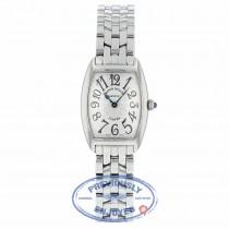 Franck Muller Curvex Medium Stainless Steel Silver Dial 1752QZ 6ZKZA4 - Beverly Hills Watch