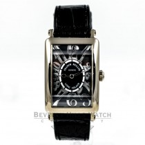 Franck Muller Long Island 18K White Gold Black Dial Ladies Medium Watch 952QZ Beverly Hills Watch Company Watches