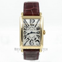 Franck Muller 18K Yellow Gold Long Island Watch 952QZ Beverly Hills Watch Company Watches