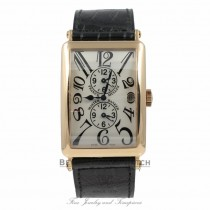 Franck Muller Long Island Master Banker Triple Time Zone Rose Gold Watch 1200MB