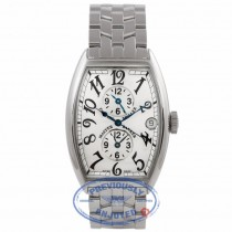 Franck Muller Master Banker 3 Times Zone Automatic Stainless Steel Silver Dial 5850 MB CEWPNZ - Beverly Hills Watch Company Watch Store