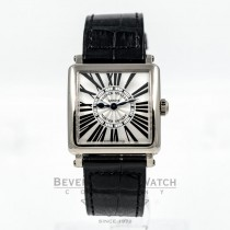 Franck Muller Master Square 18K White Gold Watch 6000SQZR Beverly Hills Watch Company Watches