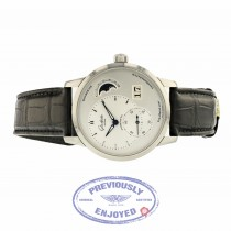 Glashutte PanoMatic Lunar Automatic 40mm Silver dial 90-02-42-32-05 048XK7 - Beverly Hills Watch Company