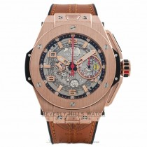 Hublot Big Bang Ferrari King Chronograph Limited Edition 45MM 18k Rose Gold 401.OX.0123.VR RA8Z8M - Beverly Hills Watch Company Watch Store