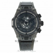 Hublot Big Bang Unico 45mm Black Sapphire Case 411.JB.4901.RT M5ZRCZ - Beverly Hills Watch