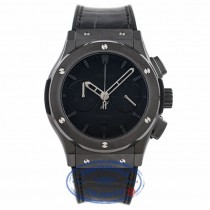 Hublot Classic Fusion 45MM Chronograph Matte Black 521.CM.1110.LR 11PE42 - Beverly Hills Watch Company Watch Store