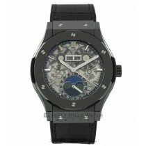 Hublot Classic Fusion 45mm Skeleton Dial Automatic 517.CX.0170.LR TLRH69 - Beverly Hills Watch Company