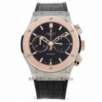 Hublot Classic Fusion Chronograph 18k Rose Gold Titanium 45MM 521.NO.1180.LR 6PY4FP - Beverly Hills Watch Company