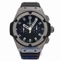 Hublot King Power Chronograph Zirconium 48MM Titanium Black Dial 715.ZX.1127.RX PTWAFC - Beverly Hills Watch Company Watch Store