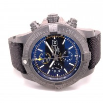 Breitling Super Avenger II Black Steel 48mm M133711A/BF30 HXN4UU - Beverly Hills Watch Company