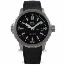 IWC Aquatimer 42MM Stainless Steel Automatic Black Dial Black Rubber Strap IW329001 H8WDMN - Beverly Hills Watch Company Watch Store