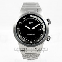 IWC Aquatimer Stainless Steel Automatic Mens Wristwatch Model IW354805 Beverly Hills Watch Company Watches