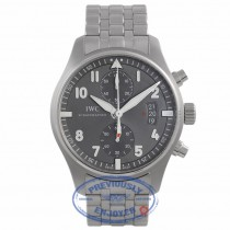 IWC Spitfire Pilot Chrono Ardose Dial 43MM IW387804 WD6MRT - Beverly Hills Watch Company Watch Store