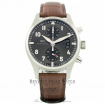 IWC Pilot Spitfire Ardoise Gray Dial IW387802 D6PYUC - Beverly Hills Watch Company