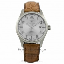 IWC Spitfire Mark XVI 39mm Silver Dial IW325502 T25XVP - Beverly Hills Watch Company