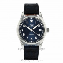 IWC Pilots Blue Dial Automatic Midsize 36mm IW324008 Z05DQE - Beverly Hills Watch