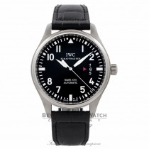 IWC Pilots Mark XVII 41MM Stainless Steel Black Dial IW326501 WPK2DU - Beverly Hills Watch Company Watch Store