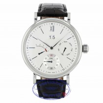 IWC Portofino Day Date 45mm Silver-Plated Dial 8 Day Power Reserve IW516201 9YJZP9 - Beverly Hills Watch