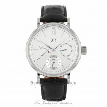 IWC Portofino Day Date 45mm Silver-Plated Dial 8 Day Power Reserve IW516201 3MTAKN - Beverly Hills Watch