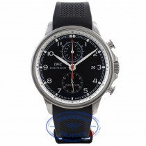 IWC Portuguese Yacht Club Rubber Strap Watch IW390210 VC996H - Beverly Hills Watch Company Watch Store