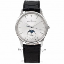 Jaeger Le Coultre Master Ultra Thin Moon Automatic Q1368420 BZBKAL - Beverly Hills Watch Company Watch Store