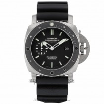 Panerai Contemporary 47mm Luminor Submersible 1950 Amagnetic 3 Days Titanium PAM00389 - Beverly Hills Watch