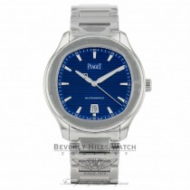 Piaget Polo S Automatic Blue Dial G0A41002 - Beverly Hills Watch