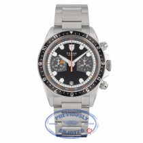 Tudor Heritage Chronograph Black / Gray 70330N - Beverly Hills Watch Company