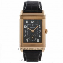 Jaeger LeCoultre Grande Reverso Rose Gold Watch Q3732470 Beverly Hills Watch Company