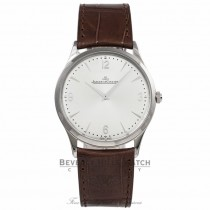 Jaeger LeCoultre Master Control Ultra Thin 38mm Stainless Steel Watch Q1348420 Beverly Hills Watch Company
