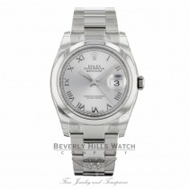 Rolex Datejust Stainless Steel 36mm Domed Bezel 116200 - Beverly Hills Watch
