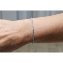 Naira & C 2.04ct Diamond Tennis Bracelet L470VV - Beverly Hills Watch Company