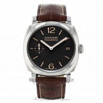 Panerai Radiomir 1940 Black Dial Brown Leather PAM00514 PQ03PT - Beverly Hills Watch