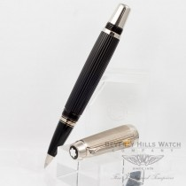 Montblanc Boheme Doue Ligne Black Resin Gold Cap Synthetic Cream Citrine Pen 101997 Beverly Hills Watch Company Pen Store