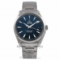 Omega Seamaster Aqua Terra 41MM Stainless Steel Blue Dial 231.10.42.21.03.003 45V2NP - Beverly Hills Watch Company Watch Store