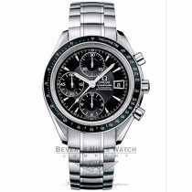 Omega Speedmaster Date 40mm Stainless Steel Bracelet Black Dial Automatic Chronograph Watch 3210-50-00 Beverly Hills Watch Company Watch Store