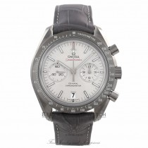 Omega Speedmaster Professional Moonwatch 44mm Stainless Steel Grey Ceramic Bezel Grey Dial Grey Leather Strap 311.93.44.51.99.001 67LLJN - Beverly Hills Watch Company Watch Store