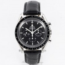 Omega Spedmaster Professional 42mm Stainless Steel Case Acrylic Crystal Alligator Strap Manual Wind 3870.50.31 Beverly Hills Watch Company Watch Store