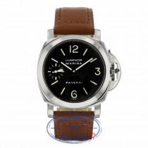 Panerai Luminor Marina Stainless Steel 44mm Black Dial PAM00001 C8RX18 - Beverly Hills Watch