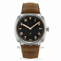 Panerai Radiomir California 3 Days Black Dial Light Brown Leather PAM00424 - Beverly Hills Watch