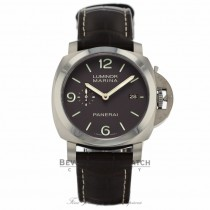 Panerai Luminor Marina Titanium 47MM Brown PAM00351 PYE595 - Beverly Hills Watch Company