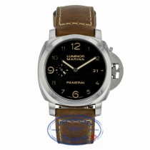 Panerai Luminor Marina 1950 3 Day Power Reserve Stainless Steel Automatic PAM00359 DQ58D7 - Beverly Hills Watch Company