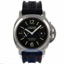 Panerai Luminor Marina Automatic 44mm Stainless Steel PAM00104 3DCTFZ - Beverly Hills Watch Company Watch Store