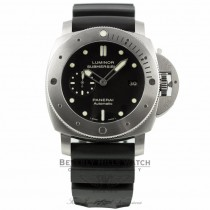 Panerai Luminor Submersible 1950 Titanium 47MM Black Dial  Automatic PAM00305 MU64LX - Beverly Hills Watch Company