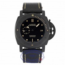 Panerai Luminor Submersible 1950 3 Days Automatic Ceramica Black PAM00508 282JJU - Beverly Hills Watch Company
