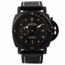 Panerai Luminor Submersible 1950 3 Days Automatic Ceramica Black PAM00508 NL2L6W - Beverly Hills Watch Store