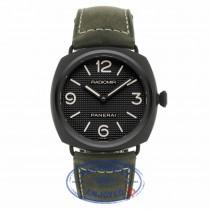 Panerai Radiomir Ceramica Black Dial Matte Ceramic PAM00643 X0CMR2 - Beverly Hills Watch